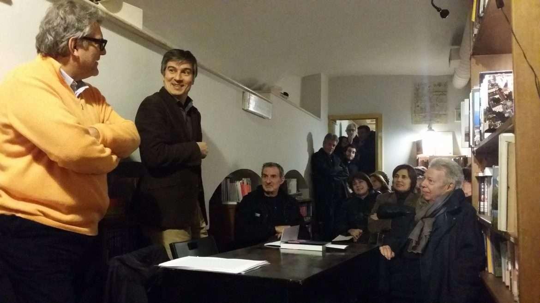 Roma – Libreria Il Viaggiatore con Giancarlo De Cataldo