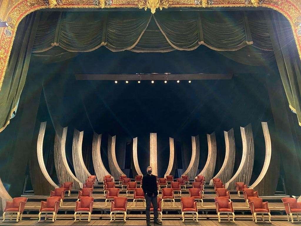 """Teatro la Fenice """"fotogrammi veneziani"""""""